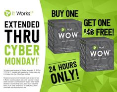 Cyber Monday deal! Buy one get one free WOW! Check it out at crazywrapdeal.com or call/text 443-396-3120.