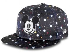 Polka Space Micky Mouse 9Fifty Snapback Cap by NEW ERA x DISNEY