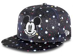 Polka Space Micky Mouse 9Fifty Snapback Cap by NEW ERA x DISNEY