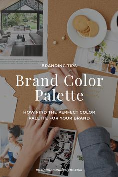 How do you choose the perfect color palette for you brand? Follow are easy 4 step process and you'll have the perfect color palette for your business. Branding | Color Palette | Branding Tips | Brand Design | #branding #branddesign #colorpalette