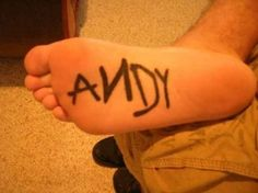 If this wouldn't hurt so much, I would do it. Love Toy Story and would be Andy's if I could!