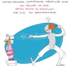 Petit précis de Grumeautique - Blog illustré: Escrime et goupillon