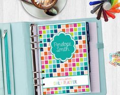 2015 Daily Planner - Life Organizer - Digital, Printable - INSTANT DOWNLOAD - Monthly Calendar, Weekly, Meal Planning, Important dates