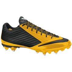 Nike Men s Vapor Speed TD Football Cleat - Varsity Maize Black 7e9cde9fa54df