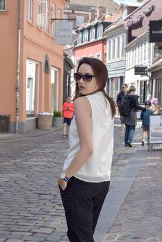 Black & White / Polka dot pants by ONLY