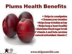 Plums, plums with some plumy benefits | Shilpsnutrilife