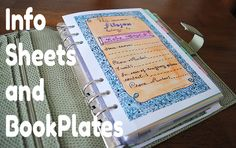 This is a great blog! She's such a great artist and so many ideas! LimeTreeFruits.com // Bookplates and Filofax Printable Freebies