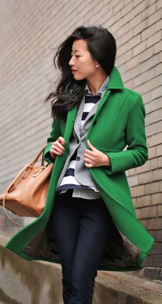 Love the green!