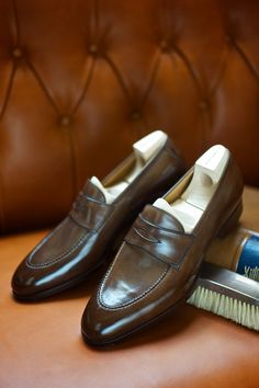 The Penny If it ain't broke, as they say, and you can't improve on the classic Penny loafer. Saint Crispin's for The Armoury
