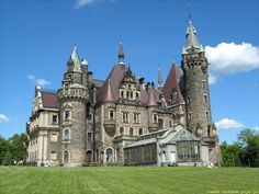 Best Castles & Palaces of Europe - Moszna Castle in Poland