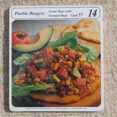 My Great Recipes 1970s Recipe Cards Vintage by MendozamVintage