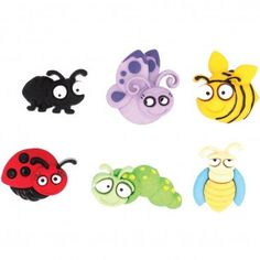Eyed Bug Novelty Buttons  / Sewing supplies / DIY craft supplies / Plastic Buttons / Kids craft Supplies / Party Supplies - pinned by pin4etsy.com