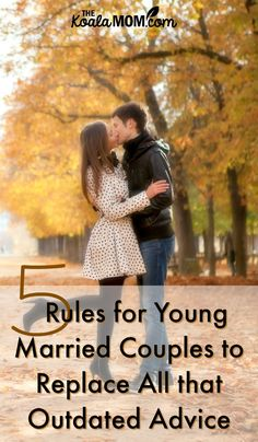 Relationship expert Rachel Pace offers 5 rules for young married couples to replace outdated marriage advice they may have heard from others. Young Marriage, Broken Marriage, Save My Marriage, Marriage Advice Cards, Advice For Newlyweds, Marriage Tips, Marriage Seminars, Marital Counseling, Marrying Young