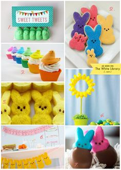 Sweet Easter Peeps Ideas