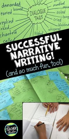 Narrative Writing and Reading: Using Dialogue,Fish in a Tree, story maps, character studies, and more