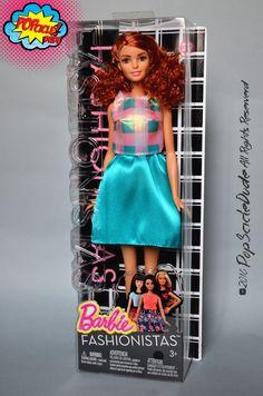 Barbie Fashionistas #29 Terrific Teal #barbie #barbisyle #mattel #TheDollsEvolves #thebarbielook #tall #fashion #fashiondoll #dollcollector #dollcollection #terrificteal