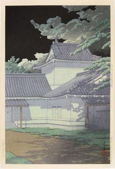 Kawase Hasui, 'Aoba Castle, Sendai,' 1933, Ronin Gallery