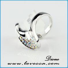 Item No.:CARI048 #Wholesale, #swarovski, #rings, #jewelry, #crystal, #love, #wedding, #bridal, #diamond, #fashion, #factory Swarovski Ring, Bridal, Crystals, Diamond, Rings, Wedding, Fashion, Casamento, Moda