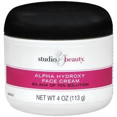 My New HG Skincare product! Studio 35 Beauty Face Cream with 8% AHA Review. #walgreens