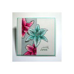 Sheena Douglass A Little Bit Floral A6 Stamp Set - Lily Stamp - Sheena Douglass from Crafter's Companion UK