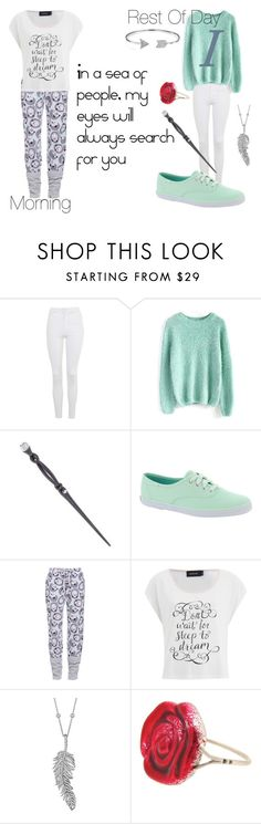 """""""Christmas ~ Isabelle Black (First Year)"""" by xx-alice-lorna-mae-sampson-xx ❤ liked on Polyvore featuring Topshop, Chicwish, Swarovski, Keds, MINKPINK, Penny Preville, Sian Bostwick Jewellery and Bling Jewelry"""