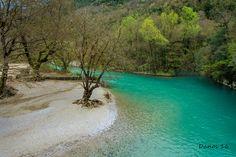 Emerald river waters... - Aristi, Ioannina Aphrodite, Birth, Emerald, Greece, Europe, River, Places, Outdoor, Greece Country