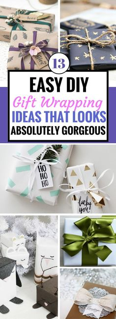 These Gift Wrapping Ideas are so amazing! I can't wait to try the other ones this Christmas. They look so easy to make but the best part is that they're so pretty! Wow, it'd be really hard to tear open this gift wrap. LOVE this to bits. The sharpie DIY gift wrapping idea is so EASY!!