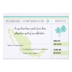 Discount DealsRSVP Boarding Pass TO MEXICO Custom Announcementsso please read the important details before your purchasing anyway here is the best buy