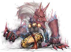 Resultado de imagem para humanoid dragon