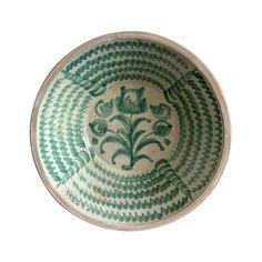 Granada Spain, Terra Cotta, Earthenware, Ceramic Pottery, 18th Century, Glaze, Bowls, Spanish, Decorative Plates