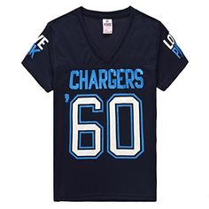 Women's '60 San Diego Chargers Pink Victoria's Secret Tee