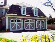 Heritage Classic Model EA08A Wood Garage Door