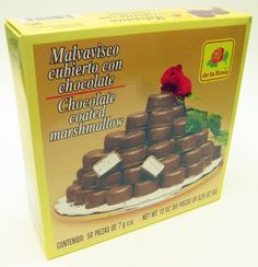 De La Rosa Chocolate Covered Marshmellow and 2 mazapan with chocolate pockets Mexican Food Recipes, Gourmet Recipes, Dog Food Recipes, Chocolates, Cocoa, Mexican Candy, Chocolate Covered Marshmallows, Mexican Chocolate, Chocolate Coating
