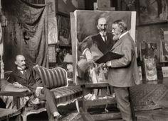 El álbum secreto de Sorolla | Documentos | EL PAÍS Semanal Spanish Painters, Spanish Artists, Artist Art, Artist At Work, Foto Madrid, Angel Sculpture, Drawing Sketches, Drawings, Grand Format