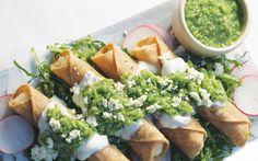 Related Pork hotdog with salad Chalupitas Mason eggs Sausage mummies with puff pastry Shepherd cake Surimi Recipes, Endive Recipes, Mexican Food Recipes, Vegetarian Recipes, Ethnic Recipes, Achiote Recipe, Tacos Dorados, Coffe Recipes, Crohns Recipes