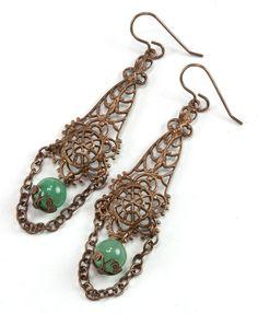 Jewelry Making Idea: Casbah Drop Earrings