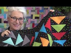 How to Make a Flying Geese Block (BOM March) - YouTube