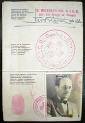 Adolf Eichmann had false papers with the name of Ricardo Klement which he used to enter Argentina in 1950.