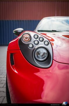 Alfa Romeo's compact lightweight 4C model is kind of cute. In fact, it's too cute for Zender's standards.