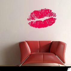 Lipstick #Wall #Decal