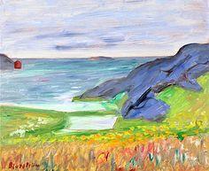 Tor Bjurström - Coastal Landscape