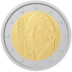 KERAILY.info: Erikoiseurot  taidemaalari Helene Schjerfbeck 2012... Helene Schjerfbeck, Euro Coins, Euro 2012, Commemorative Coins, Saving For Retirement, Money Matters, Coin Collecting, Finland, Things To Come