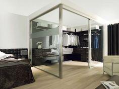 Vestidores y Armarios. En PORCELANOSA diseñamos armarios y vestidores personalizados para todo tipo de distribuciones e integrados totalmente en el ambiente.
