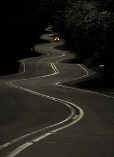 I like this road as its like life-full of twists and turns and bumps but it gets you where you want to go... eventually.