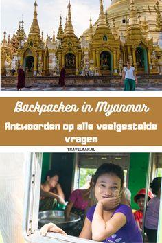 Wil jij gaan backpacken in Myanmar? In dit artikel geven we antwoord op 10 veelgestelde vragen over backpacken in Myanmar.