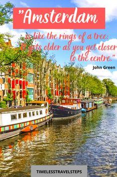 Amsterdam Travel Guide, Europe Travel Guide, Travel Destinations, Budget Travel, Europe Europe, Central Europe, Cheap Travel, Travel Abroad, Travel Ideas