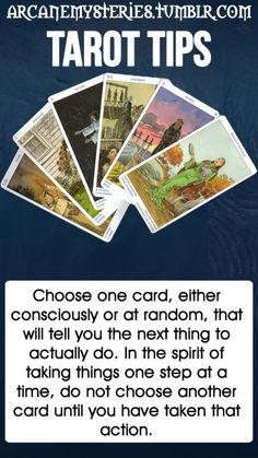 Tarot Tips.