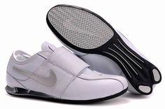 best service 70b30 e19d8 Mens Nike Shox R3 Velcro White Grey Black- 78.77 Mens Nike Shox, Nike Shox
