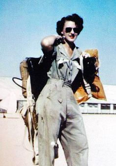 Lillian Yonally, who was 17 when war broke out, joined the WASPS and trained at the Sweetwater Army Field in Texas flying B25 bombers. She served in the seventh class of the Women's Flying Training Detachment  in which women pilots lead training exercises for male pilots including aircraft tracking both during the night and at high altitude, along with acting as targets for combat training. 38 WASPS were killed during WWII.