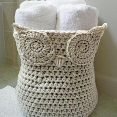 Crochet an Owl Basket + How to Read Crochet Patterns - Free Video Tutorial Series